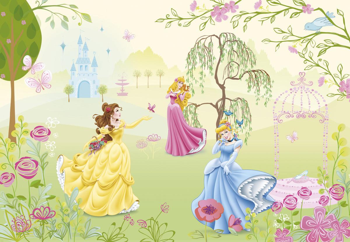 """Fototapeten National Geographic : National Geographic und Melli Mello. Fototapete """"Princess Garden"""" von"""