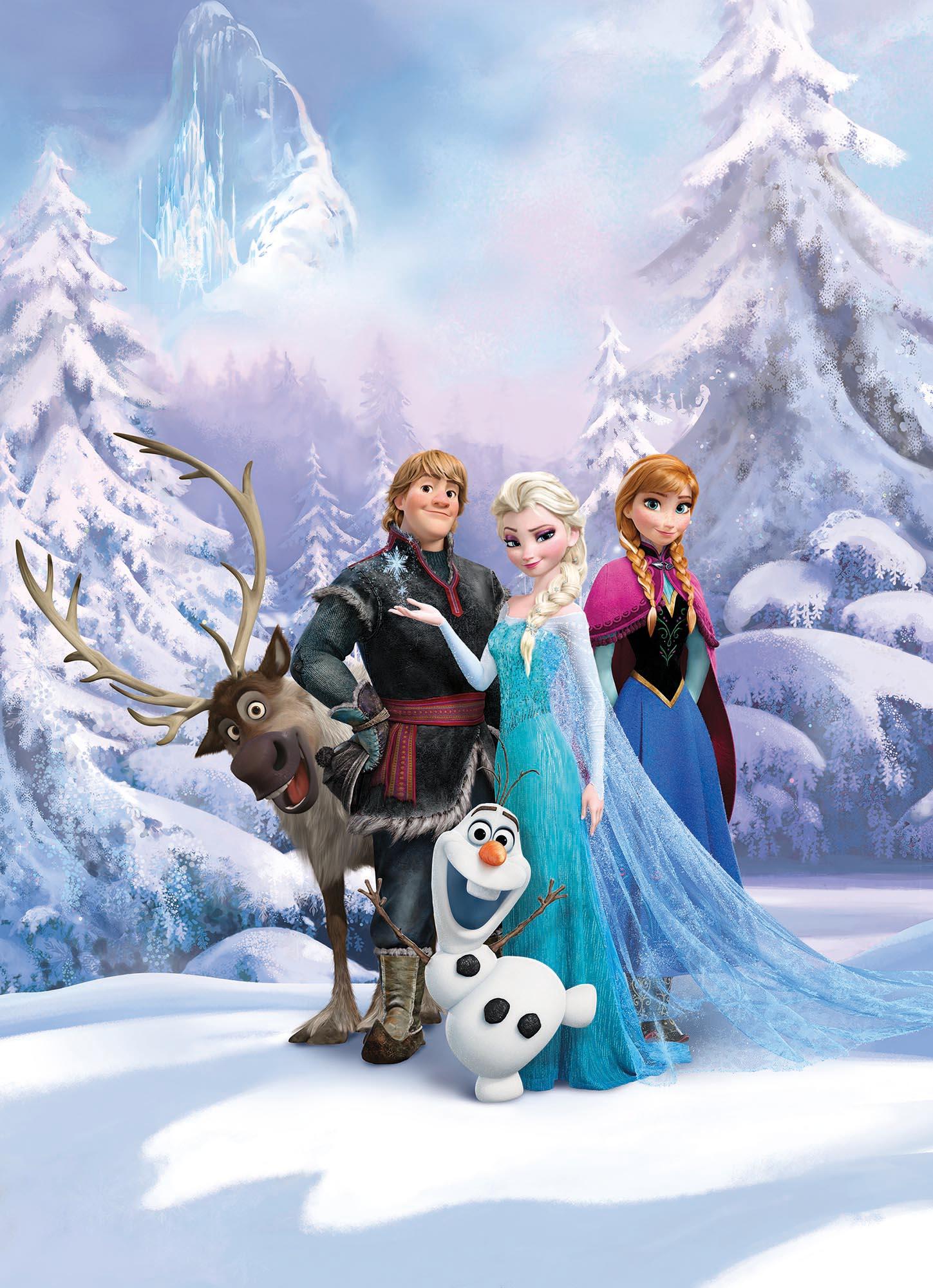 Fototapete Frozen Winter Land Von Komar Disney