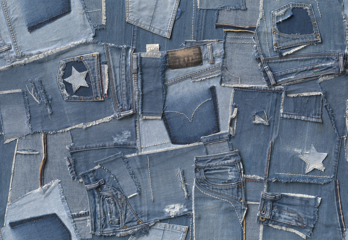 """Fototapeten National Geographic : , National Geographic und Melli Mello. Fototapete """"Jeans"""" von Komar"""