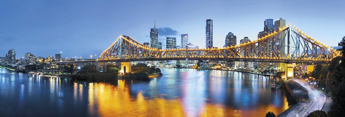 """Fototapeten National Geographic : National Geographic und Melli Mello. Vliestapete """"Brisbane"""" von Komar"""