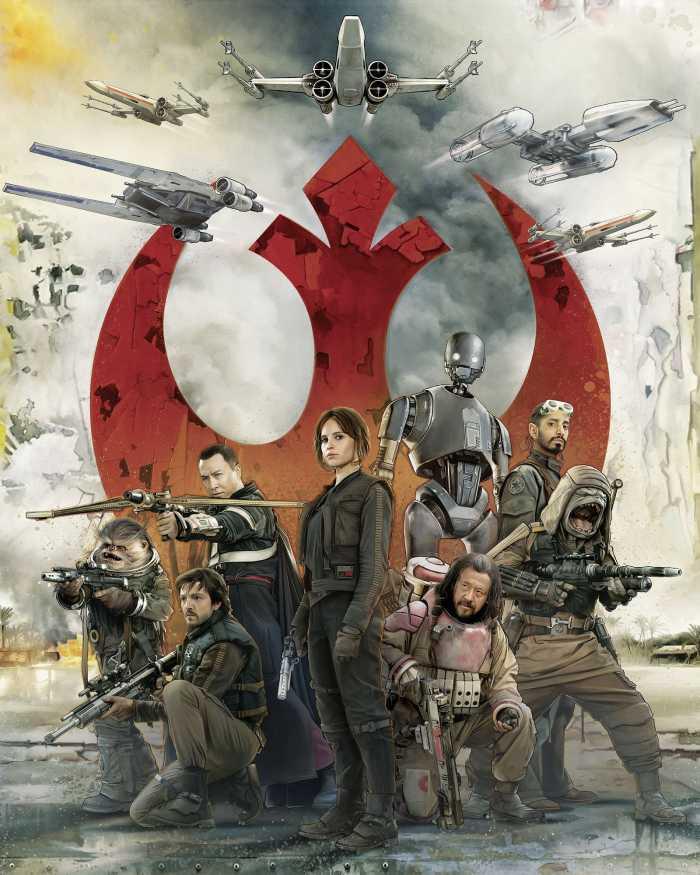 Digitaldrucktapete Star Wars Rebels