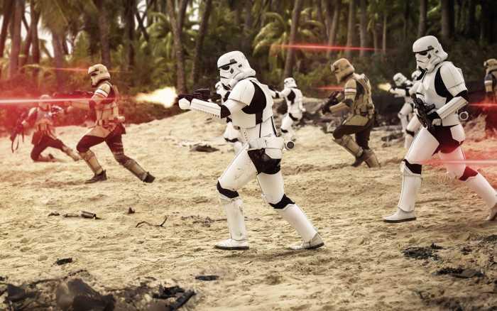 Digitaldrucktapete Star Wars Imperial Strike II