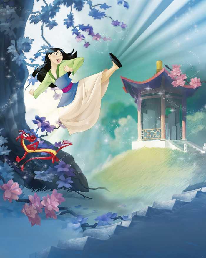 Digitaldrucktapete Mulan