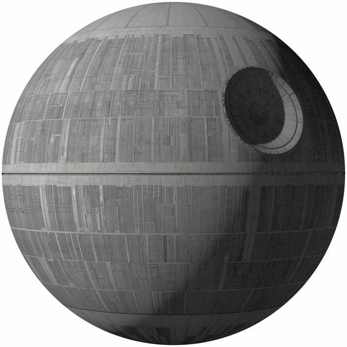 Wandtattoo Star Wars XXL Death Star