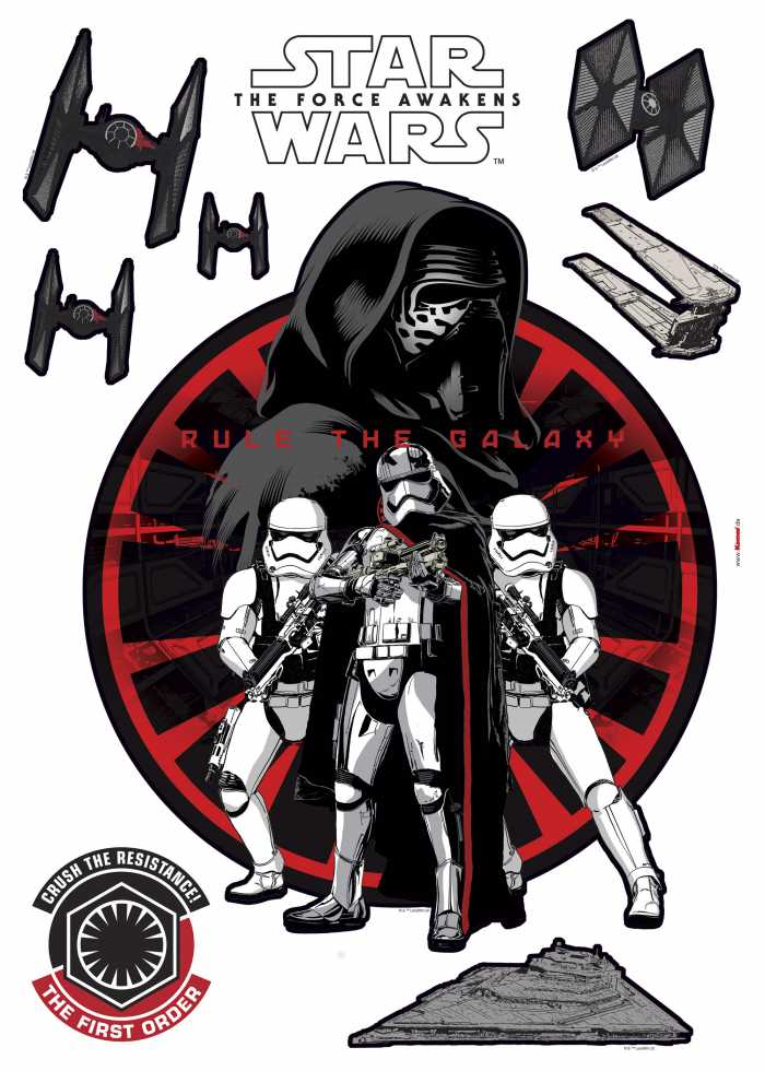 Wandtattoo Star Wars First Order