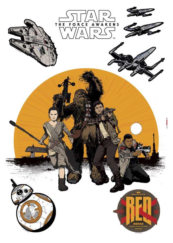 Wandtattoo Star Wars Resistance