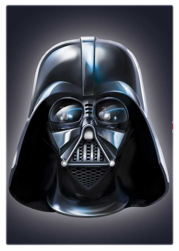 Wandtattoo Star Wars Darth Vader