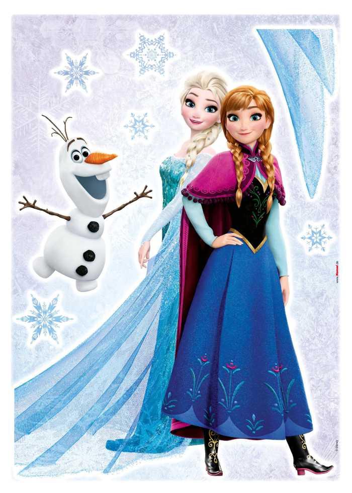 Wandtattoo Frozen Sisters