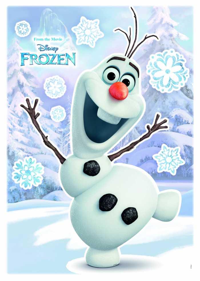 Wandtattoo Olaf