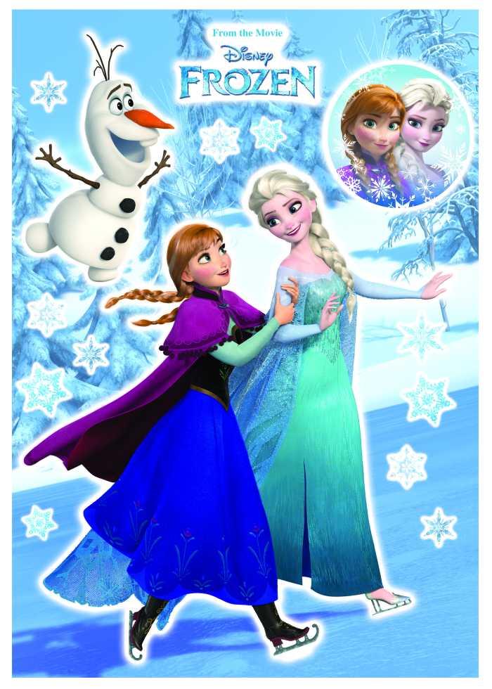 Wandtattoo Anna und Elsa