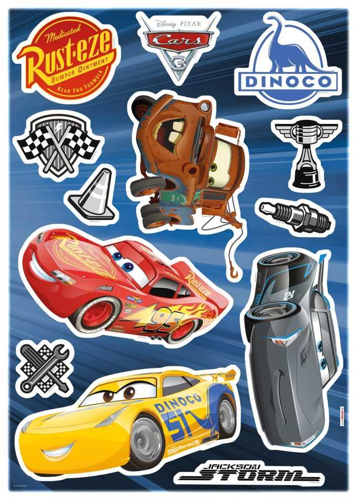 Wandtattoo Cars3