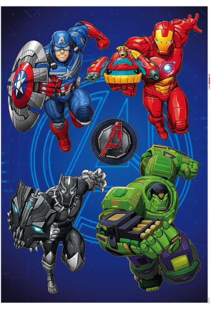 Wandtattoo Avengers Mech Strike