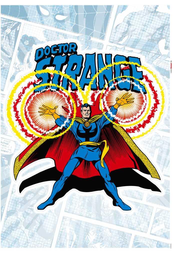 Wandtattoo Doctor Strange Comic Classic