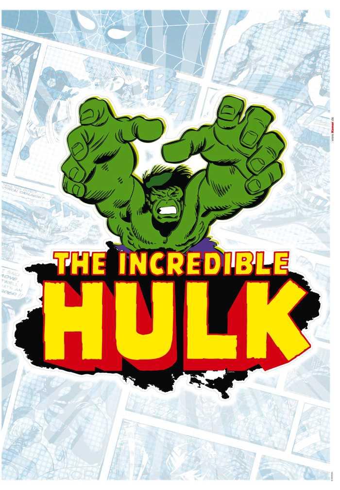 Wandtattoo Hulk Comic Classic