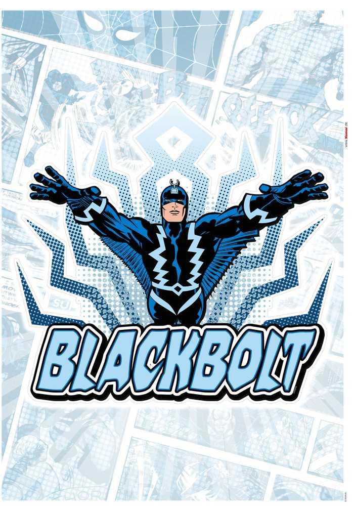 Wandtattoo Blackbolt Comic Classic