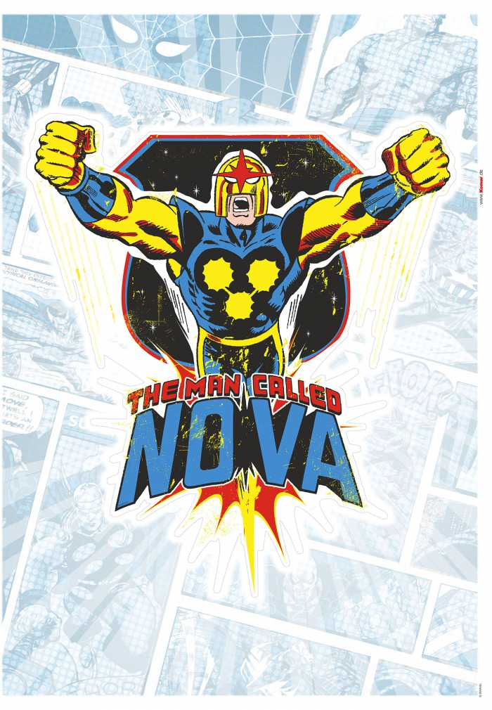 Wandtattoo Nova Comic Classic