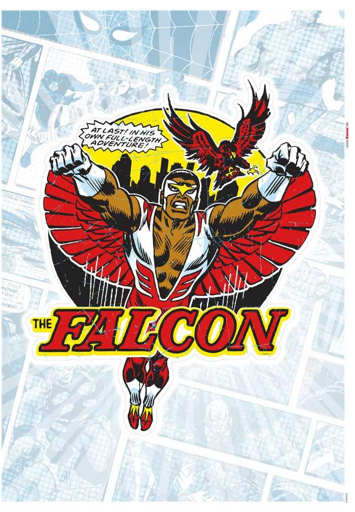 Wandtattoo Falcon Comic Classic