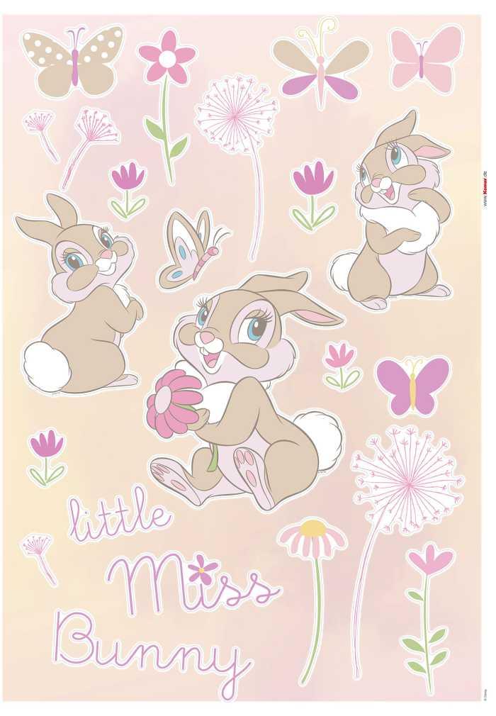 Wandtattoo Little Miss Bunny