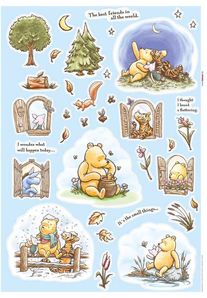 Wandtattoo Winnie the Pooh Adventures