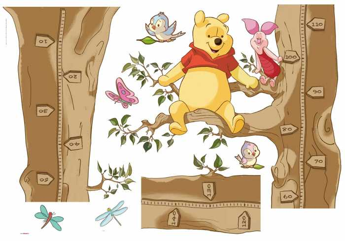 "Wandtattoo Sticker ""Winnie the Pooh Size""  in Hülse"