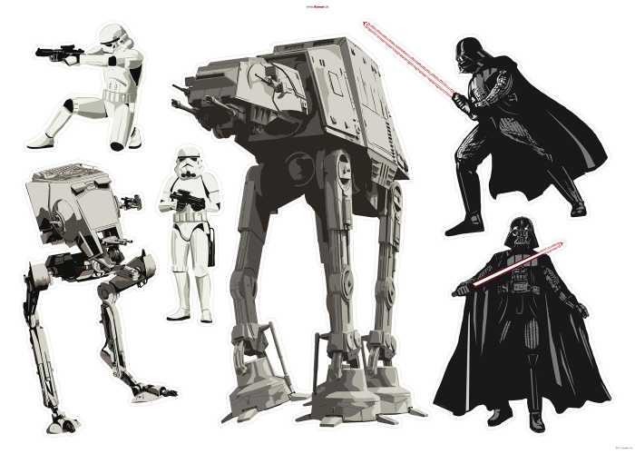 Wandtattoo Star Wars Doomed