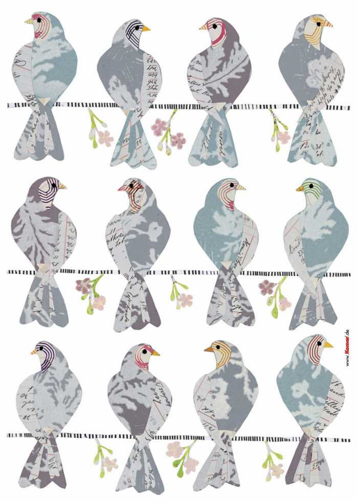 Wandtattoo Doves
