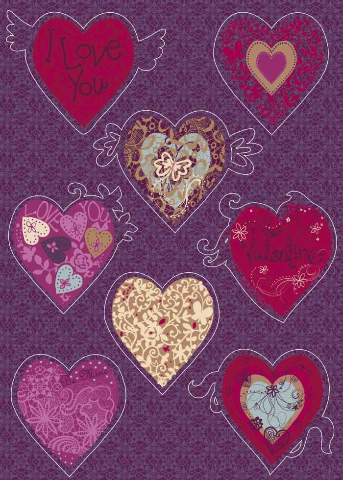 Wandtattoo Valentine
