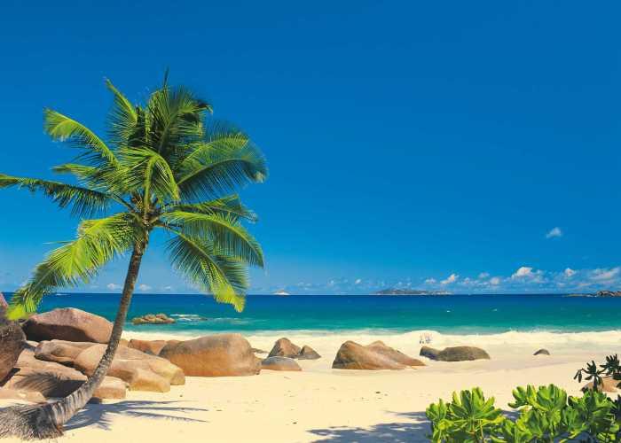 Fototapete Seychellen