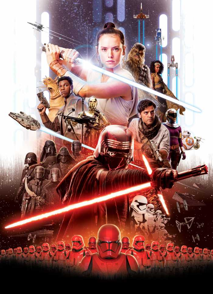 Fototapete Star Wars Movie Poster Rey