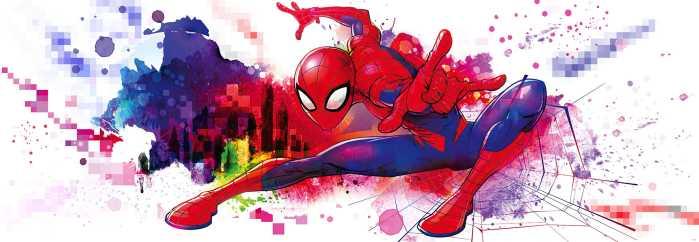Fototapete Spider-Man Graffiti
