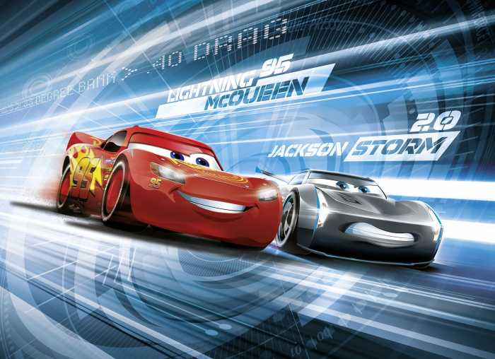Fototapete Cars3 Simulation