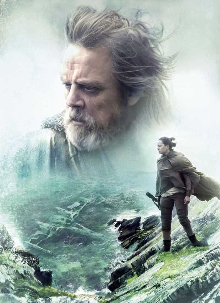 Fototapete STAR WARS The Last Jedi