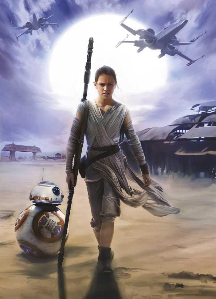 Fototapete Star Wars Rey