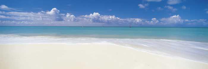 Fototapete Deserted Beach