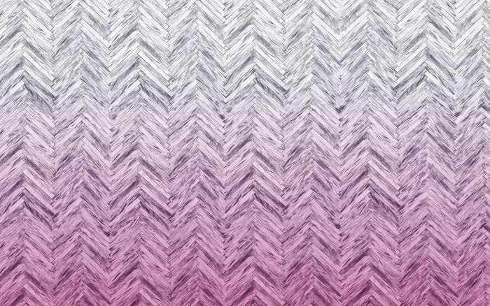 Digitaldrucktapete Herringbone Pink