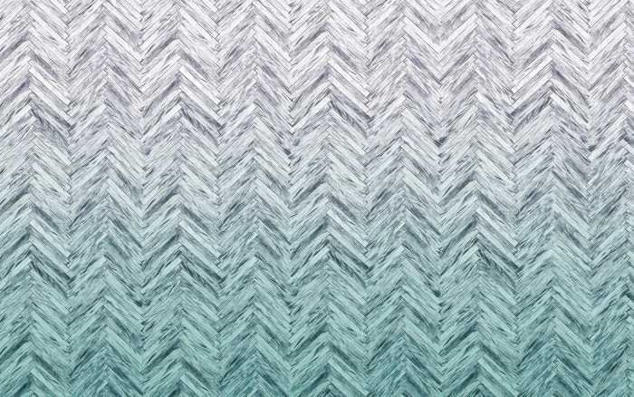 Digitaldrucktapete Herringbone Mint