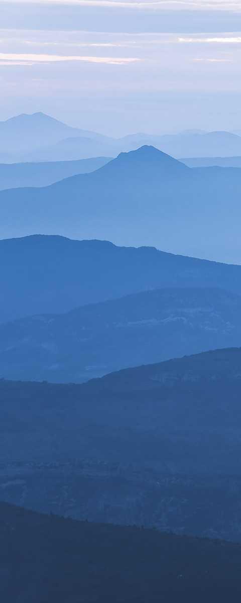 Panel Blue MountainPanel
