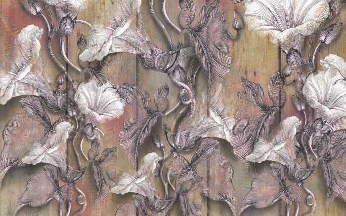 Digitaldrucktapete Bloomin