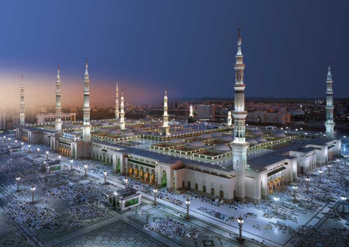 Fototapete Medina Mosque