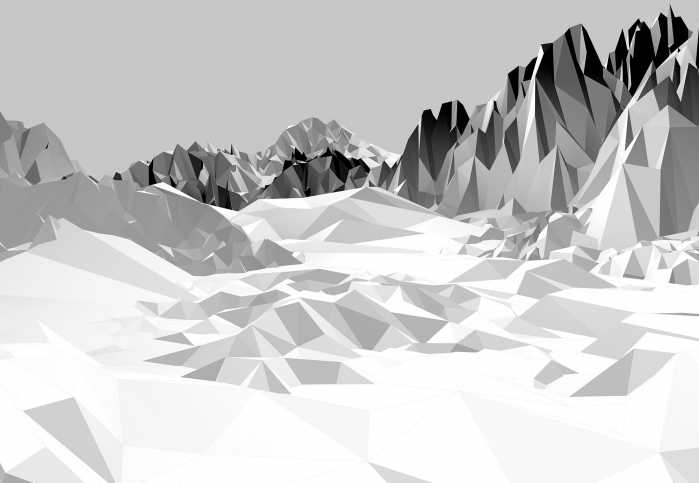 Fototapete Icefields