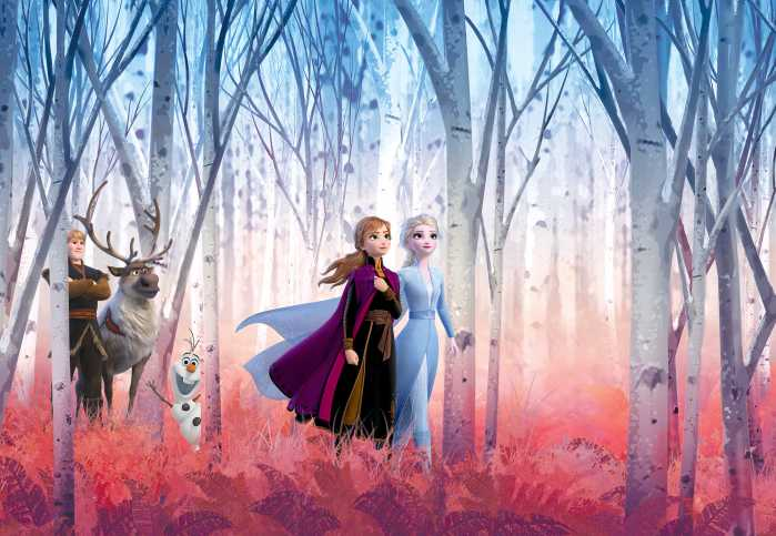 Fototapete Frozen Friends Forever