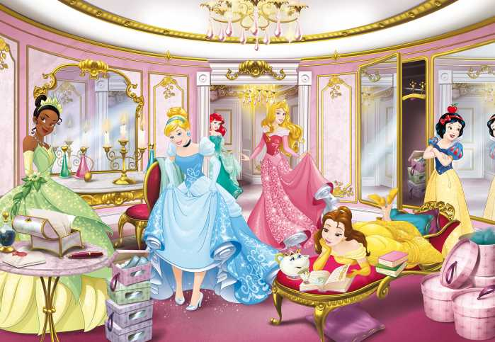 Fototapete Disney Princess Mirror