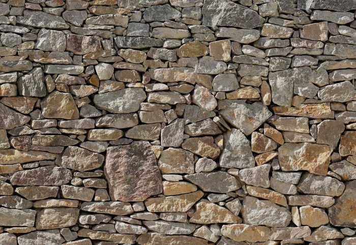 Digitaldrucktapete Stone Wall