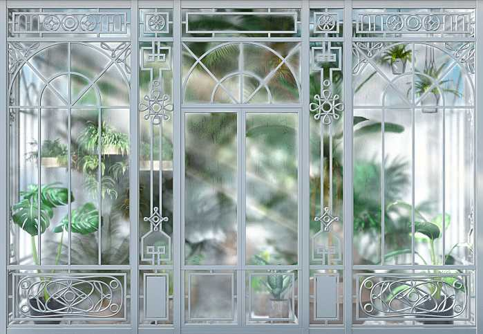 Fototapete Orangerie