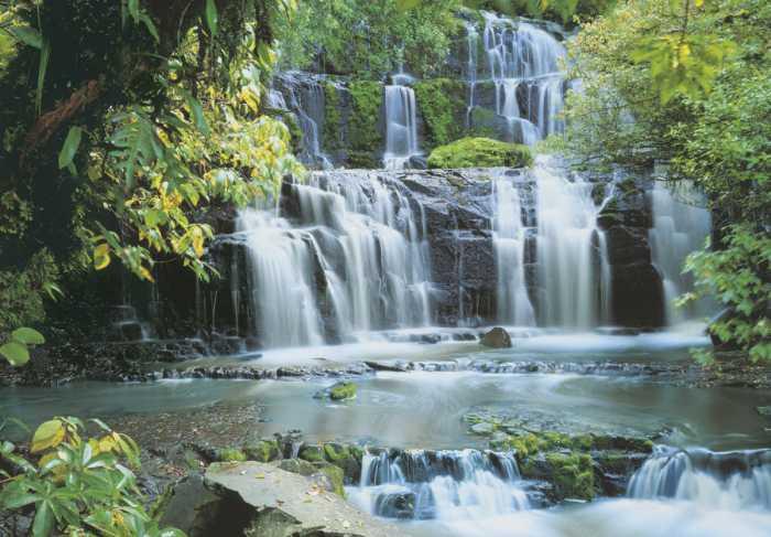 Fototapete Pura Kaunui Falls