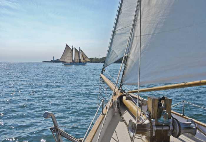 Fototapete Sailing