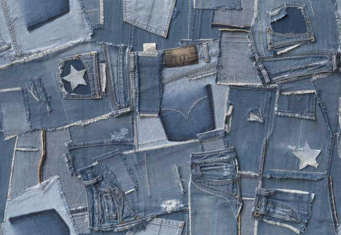 Fototapete Jeans