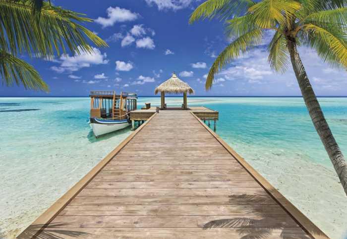 Fototapete Beach Resort