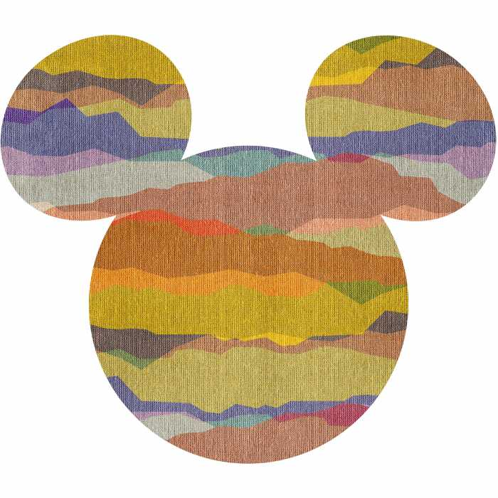 Wandtattoo Mickey Head Vista