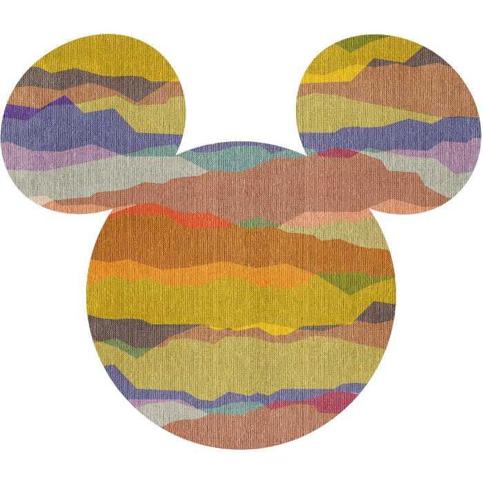 Wandtattoo Mickey Head Vista